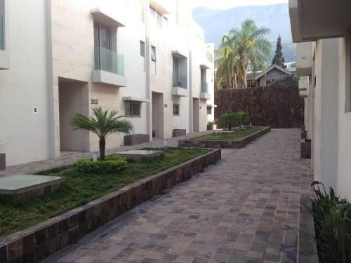 (crm-4035-1187)  casa renta, residencial la toscana, alfonso reyes, san pedro.