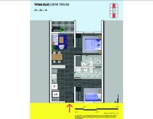 (crm-4035-632)  departamentos en venta en titán elio, centro de monterrey