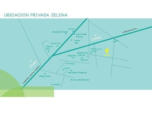 (crm-4184-1060)  terreno en venta en merida, privada zelena (preventa) precios + bajos