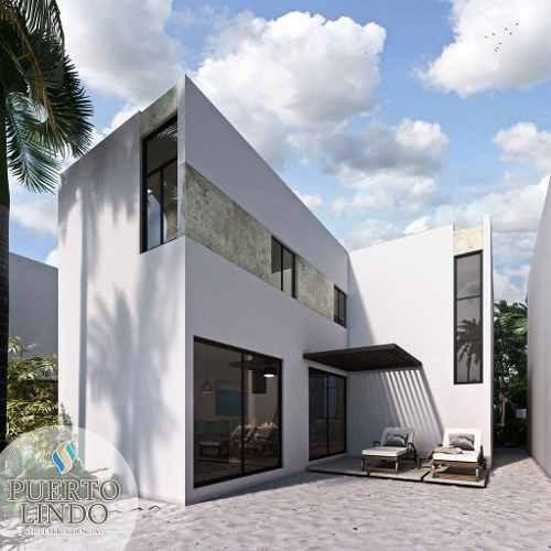 (crm-4184-1180)  cumple tu sueño: casa de playa en puerto lindo chelem, mod. aurora