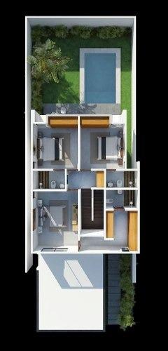 (crm-4184-1270)  casa en venta en merida, residencial premium piedra verde mod 1