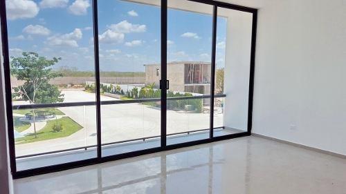 (crm-4184-1472)  privada albarella, el mejor lugar para tu hogar en mérida, mod. b