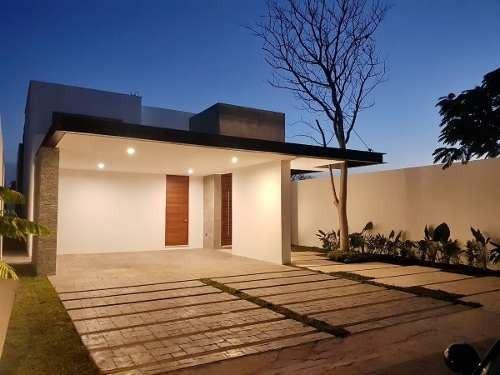 (crm-4184-1523)  el hogar de tus sueños, lujosa casa en privada arborea, conkal yucatán