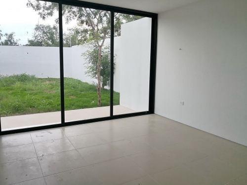 (crm-4184-1638)  lujosa casa nueva en privada arbórea, el mejor lugar para vivir. mod b