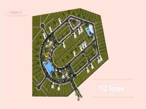 (crm-4184-1718)  terreno en venta en merida, proyeto privada blanca residencial. l2034