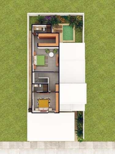 (crm-4184-1824)  casa en venta en merida, privada amidanah temozon. modelo b