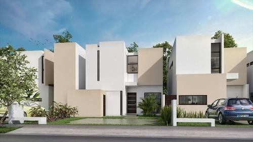 (crm-4184-1915)  casa en venta en merida, zensia parque residencial, modelo b