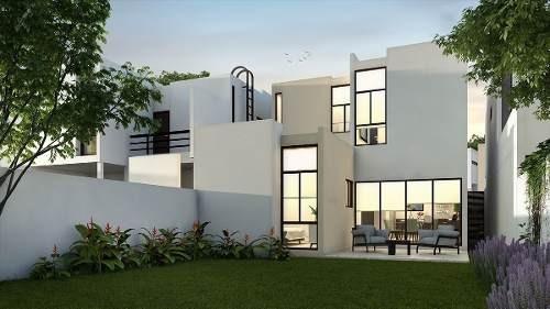 (crm-4184-1918)  casa en venta en merida, zensia parque residencial, modelo e