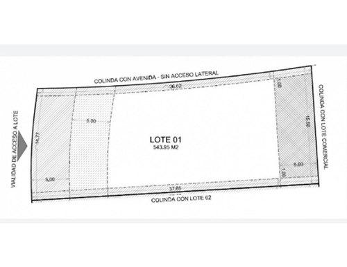 (crm-4184-1966)  lotes residenciales en venta, merida, compostela lote 01