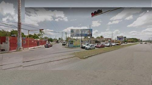 (crm-4184-2092)  terreno en venta en merida, sobre circuito colonias, frente a la plaza