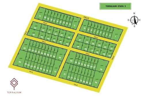 (crm-4184-2173)  lotes en venta merida tixcuncheil ¡una inversion estrategica! etapa 3
