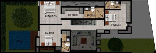 (crm-4184-2197)  preciosa casa residencial en privada astoria temozon norte