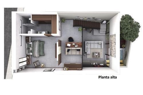 (crm-4184-2243)  casa nueva tipo loft en montecristo, mérida ¡último disponible!