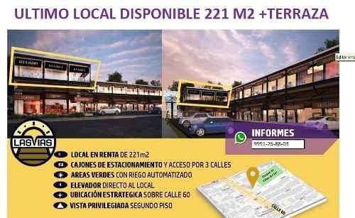 (crm-4184-2267)  local comercial en renta en merida, sobre la avenida 60