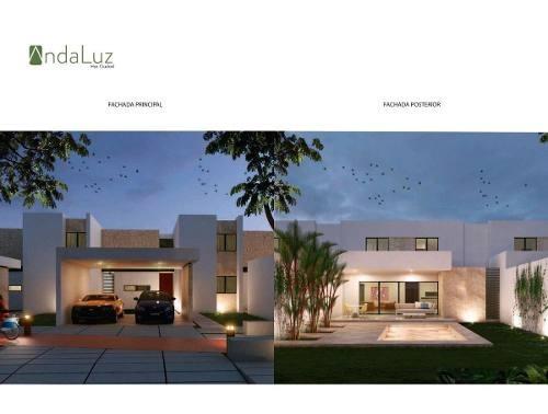 (crm-4184-2271)  casa en venta merida cholul !grandes espacios llenos de vida!