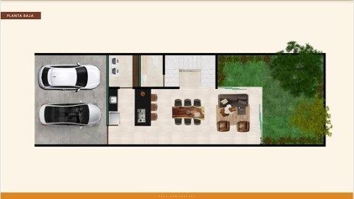 (crm-4184-2335)  townhouse en venta en merida,santa rita cholul, excelente ubicacion