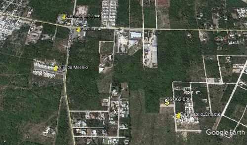 (crm-4184-2343)  lotes residenciales en merida, yucatan. dzitya