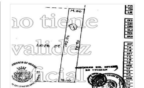 (crm-4184-2393)  terreno en venta/ renta en avenida comercial tanlum.