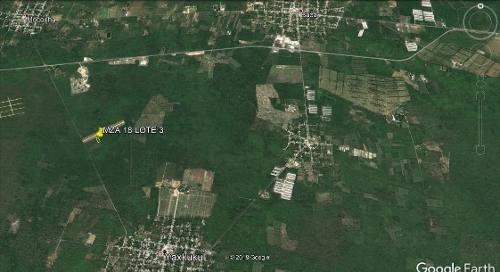(crm-4184-2414)  terreno en venta en yaxkukul, hermosa tierra a pocos minutos de merida