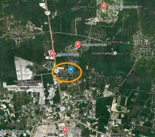 (crm-4184-2589)  terreno en venta xcanatún, ¡muy cerca de la hacienda y con servicios!