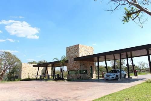 (crm-4184-2652)  terreno en venta en merida, residencial parque natura.lote 41