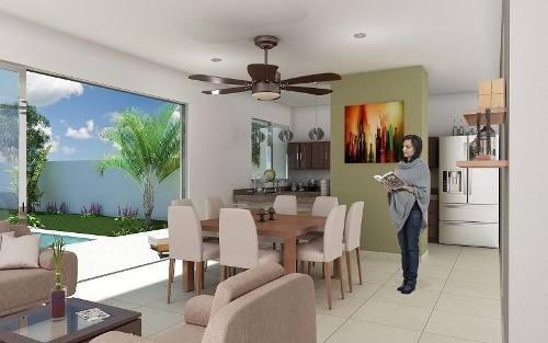 (crm-4184-462)  casas en venta, privada conkal - modelo a