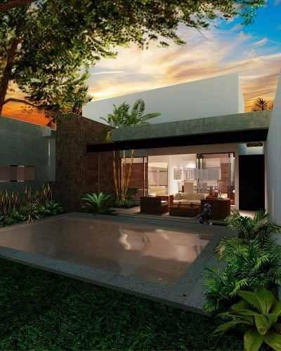 (crm-4184-520)  casa 1 planta en preventa - col. maya