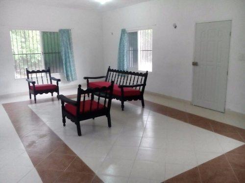 (crm-4184-741)  casa de campo en venta en yucatan, komchen. ¡amplio terreno!