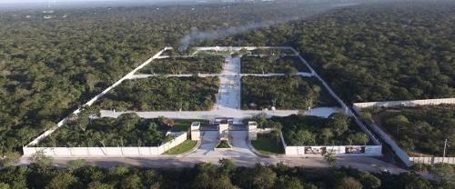 (crm-4184-868)  venta de terreno en merida, privada residencial villareal, temozon