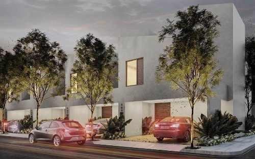 (crm-4184-944)  casa en venta en merida, tipo town house cámara de comercio, roof top