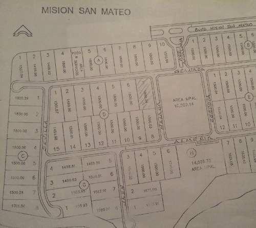 (crm-431-1300)  venta de terreno mision san mateo en juarez nuevo leon