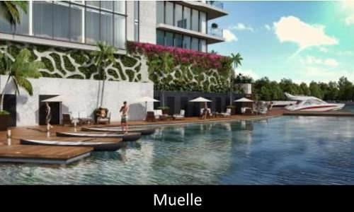 (crm-431-2164)  departamento en pre venta en puerto cancun