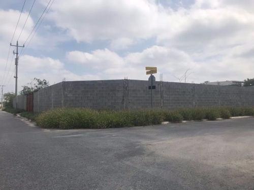(crm-431-2254)  terreno en venta portal de zuazua n l
