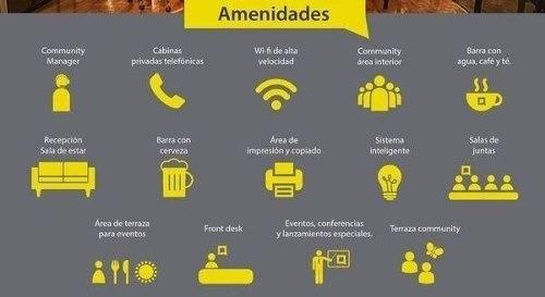 (crm-431-2606)  oficina en renta residencial anáhuac