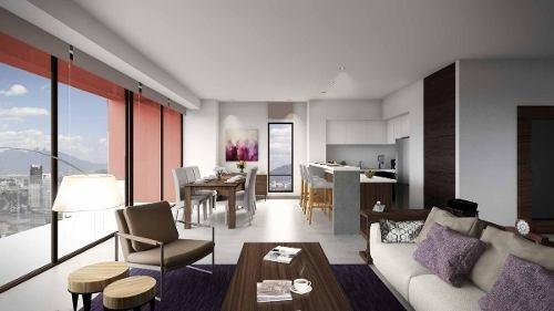 (crm-431-2722)  departamento en venta residencial las colinas monterrey cantera