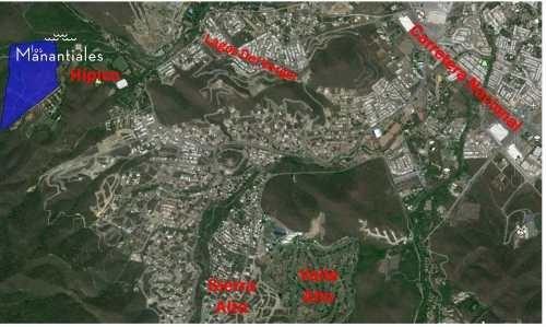 (crm-431-2739)  terrenos residenciales en venta los manantiales monterrey