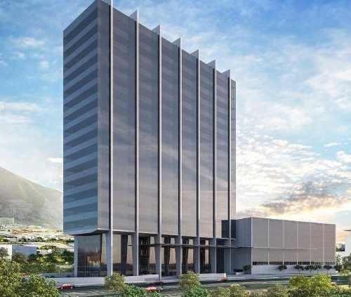 (crm-431-2818)  oficinas en renta en torre albia santa maria monterrey