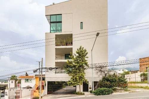 (crm-431-951)  venta de departamento penthouse colonia san jeronimo en monterrey
