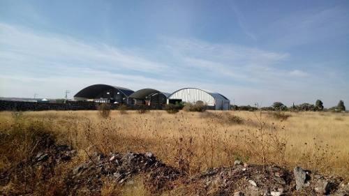(crm-4464-4783)  renta de terreno industrial en el marqués en queretaro