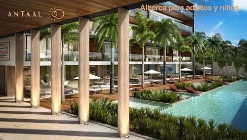 (crm-4812-144)  departamento venta antaal puerto cancún