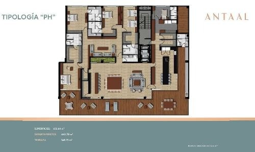 (crm-4812-148)  penthouse venta antaal puerto cancún