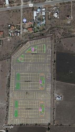 (crm-4812-510)  terreno pre-venta valle del cimatario $462,000 connor eqg1