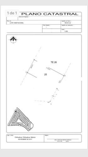(crm-4812-548)  terreno venta fracc. valdivia residencial $1,000,000 wenmir ecg2