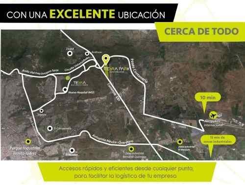 (crm-4812-549)  terreno industrial venta terra park $3549,000 verper eqg1