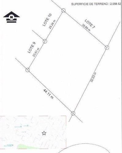 (crm-4812-600)  terreno venta robinson zona 3 $490,000 iverod eca4