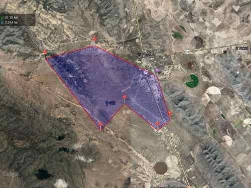 (crm-4817-10)  excelente oportunidad terreno sobre c. fed 57 / saltillo y matehuala