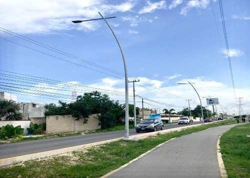 (crm-4817-61)  excelente oportunidad casa y terreno en av. huayacan; cancún, q. roo m