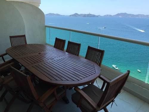 (crm-4860-130)  departamento venta / costa victoria / acapulco costera