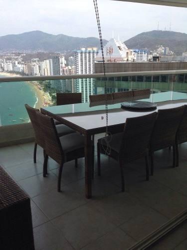 (crm-4860-95)  departamento venta / costa victoria / acapulco costera