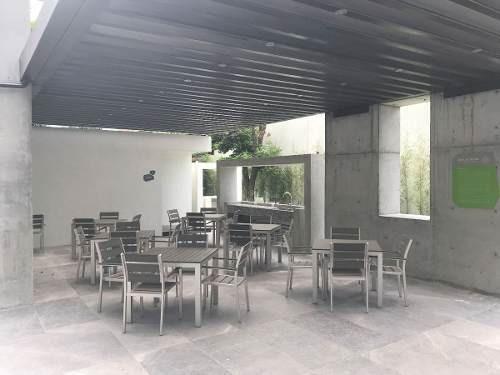 (crm-4864-65)  departamento en venta / renta col. las huastecas, santa catarina, n.l.